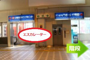 JR町田駅待ち合わせ場所道順