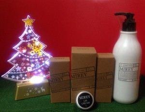 高濃度酸素化粧品 クリスマスキャンペーン
