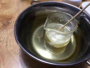 手作りアロマクリーム