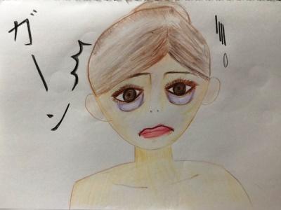 目袋のたるみ解消エクササイズ