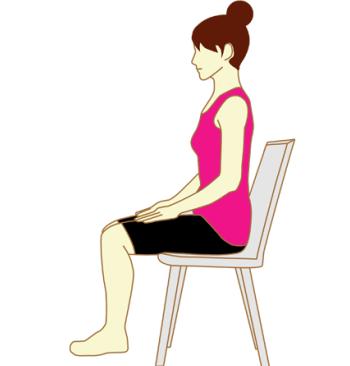 肩こり・腰痛に正しい姿勢