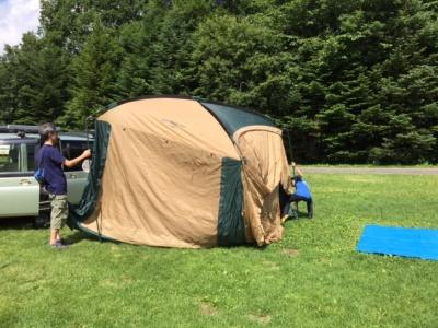 リフレッシュ&リラックス自然の中でキャンプ