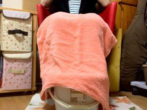 妊婦さんのむくみを解消するアロマフットバス